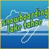 Snowboarding Lake Tahoe